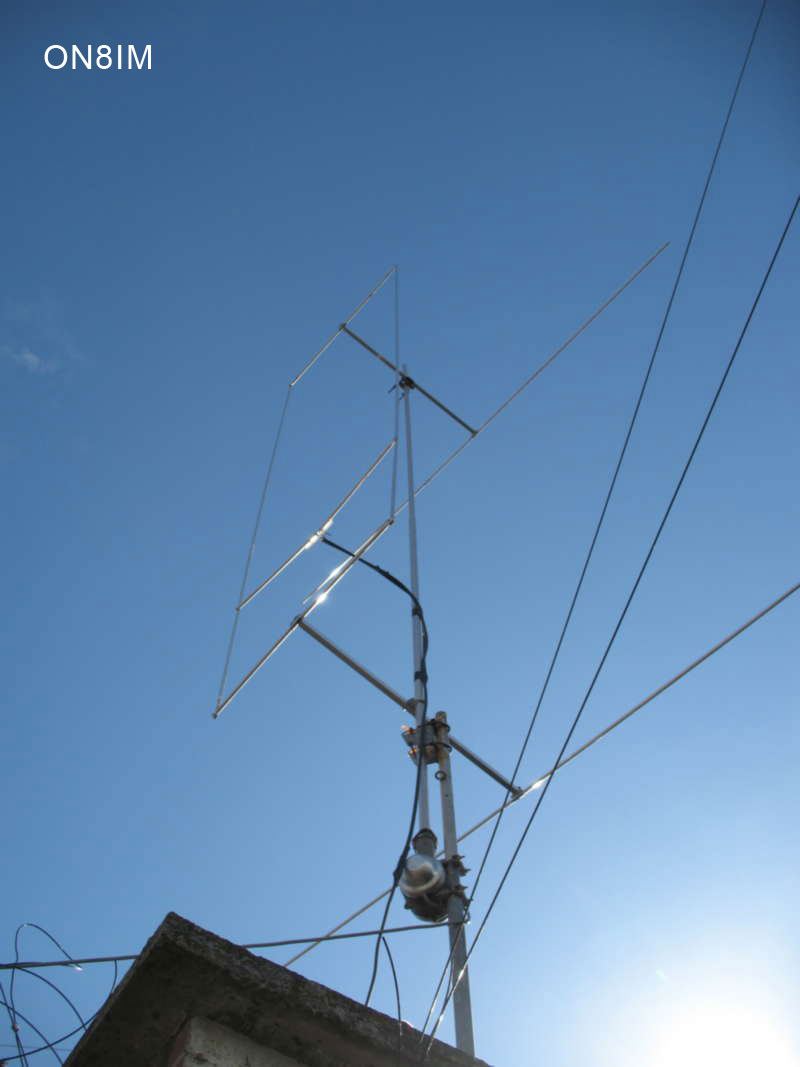 ON8IM hen antenna with reflector 001